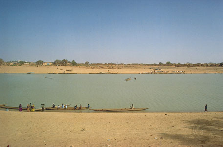 Senegal river at Kaedi