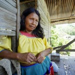 Carolina Quenama, one of the victims that Chevron is suing using RICO charges.