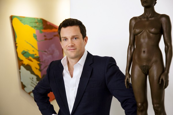 artnet CEO Jacob Pabst. Photo: Karin Kohlberg.