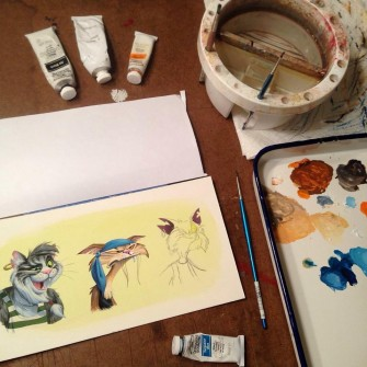 Disneyland Artist Eric Scales: Artist Spotlight