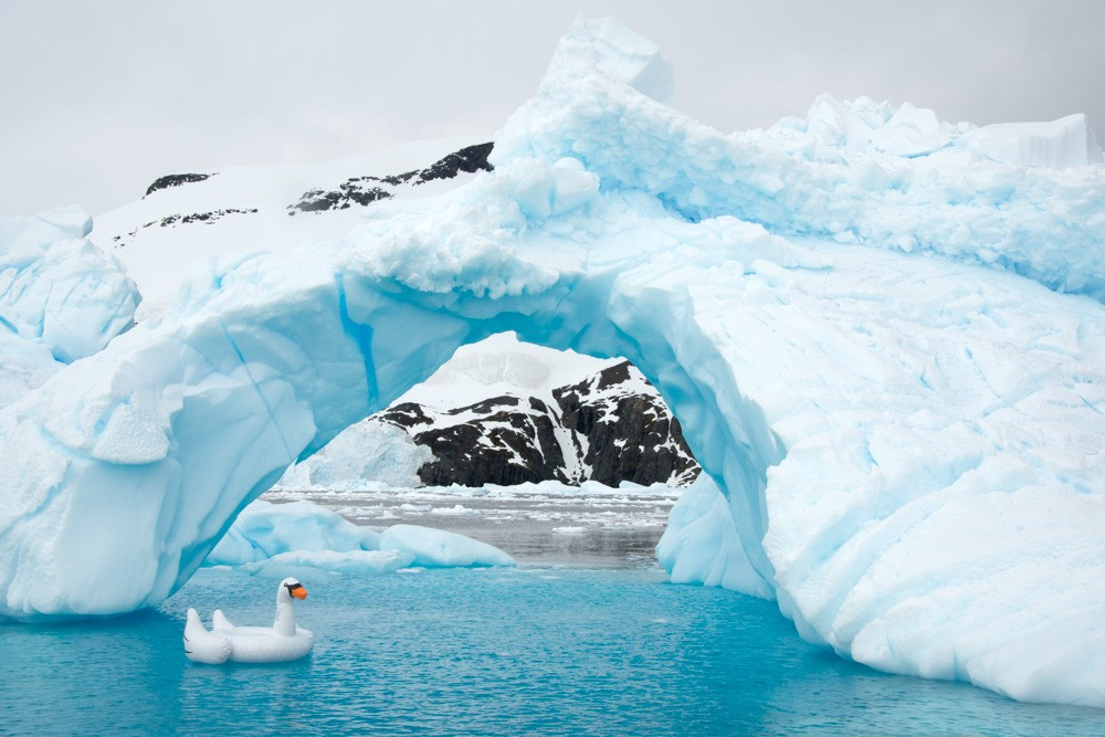 Antarctica – Swan Ice Arch