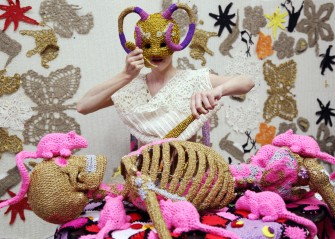 Crocheted Art with Olek
