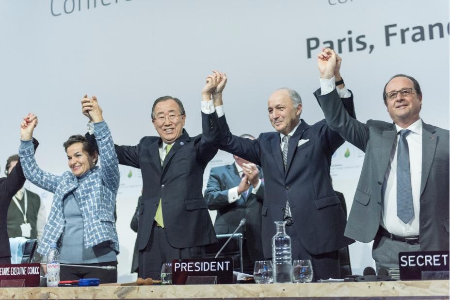 Closing Ceremony of COP21, Paris