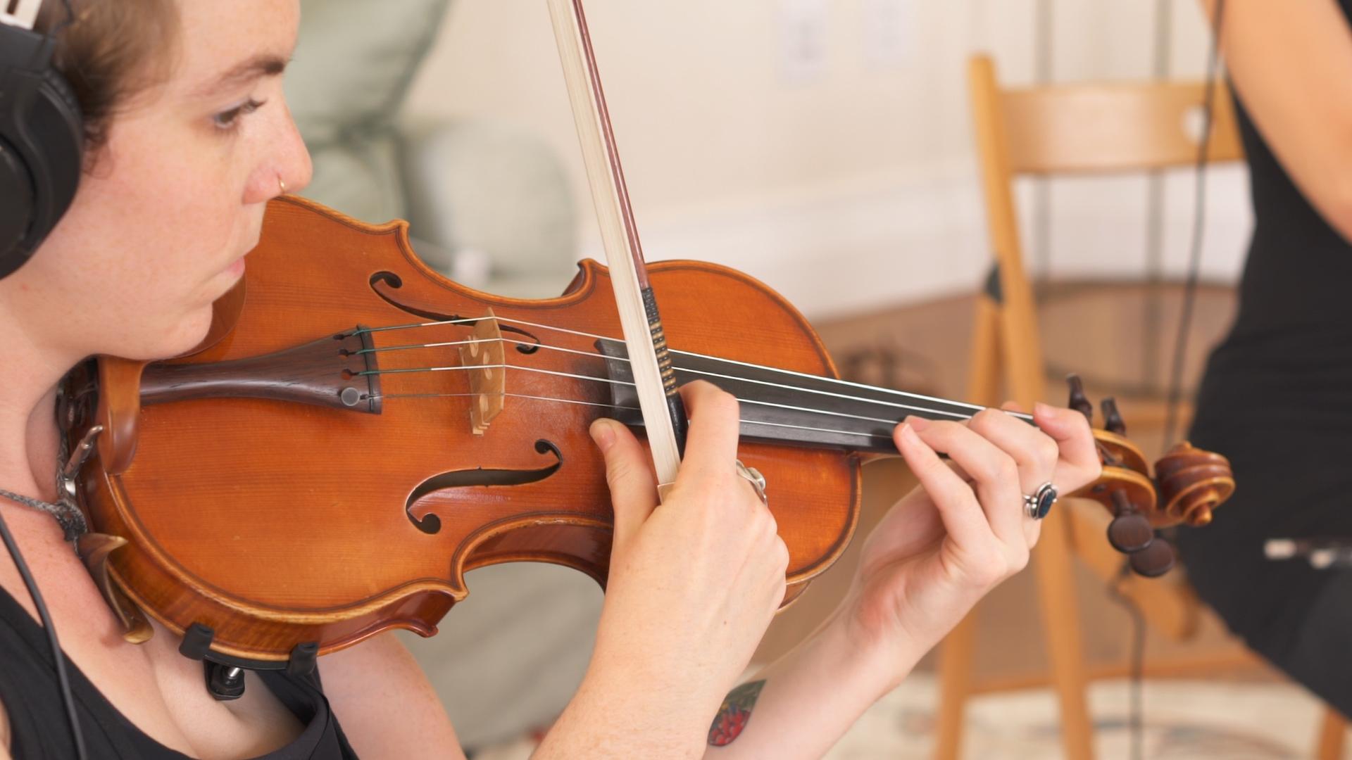 Violin Pizz