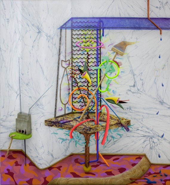 David Czupryn: PaleNeonPlastics, Radio, Marble etc., 2015