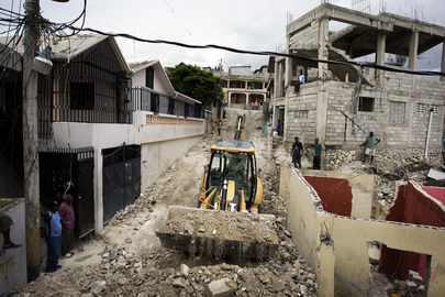 Haiti Earthquake UN1