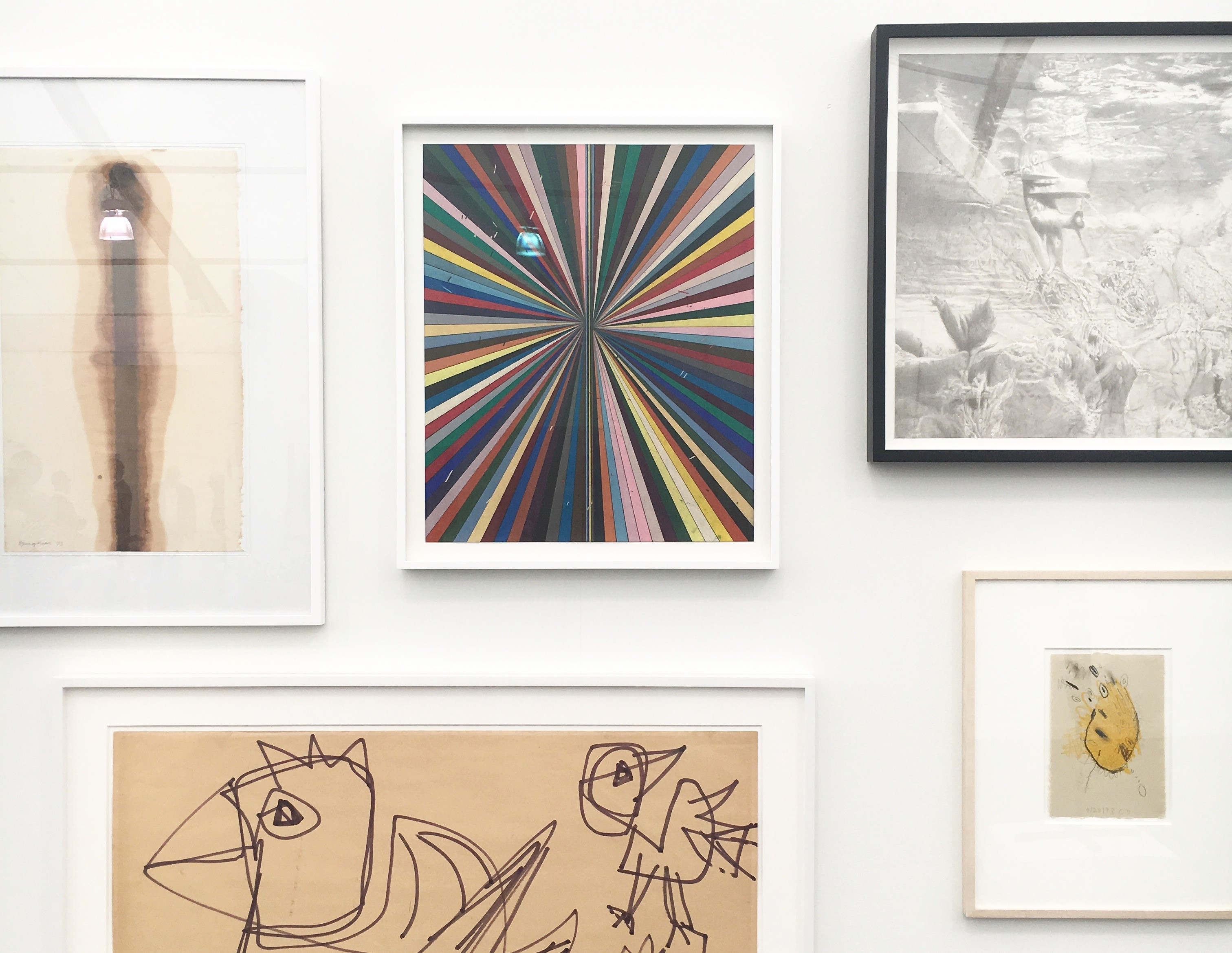 Blum and Poe Booth at Frieze NY