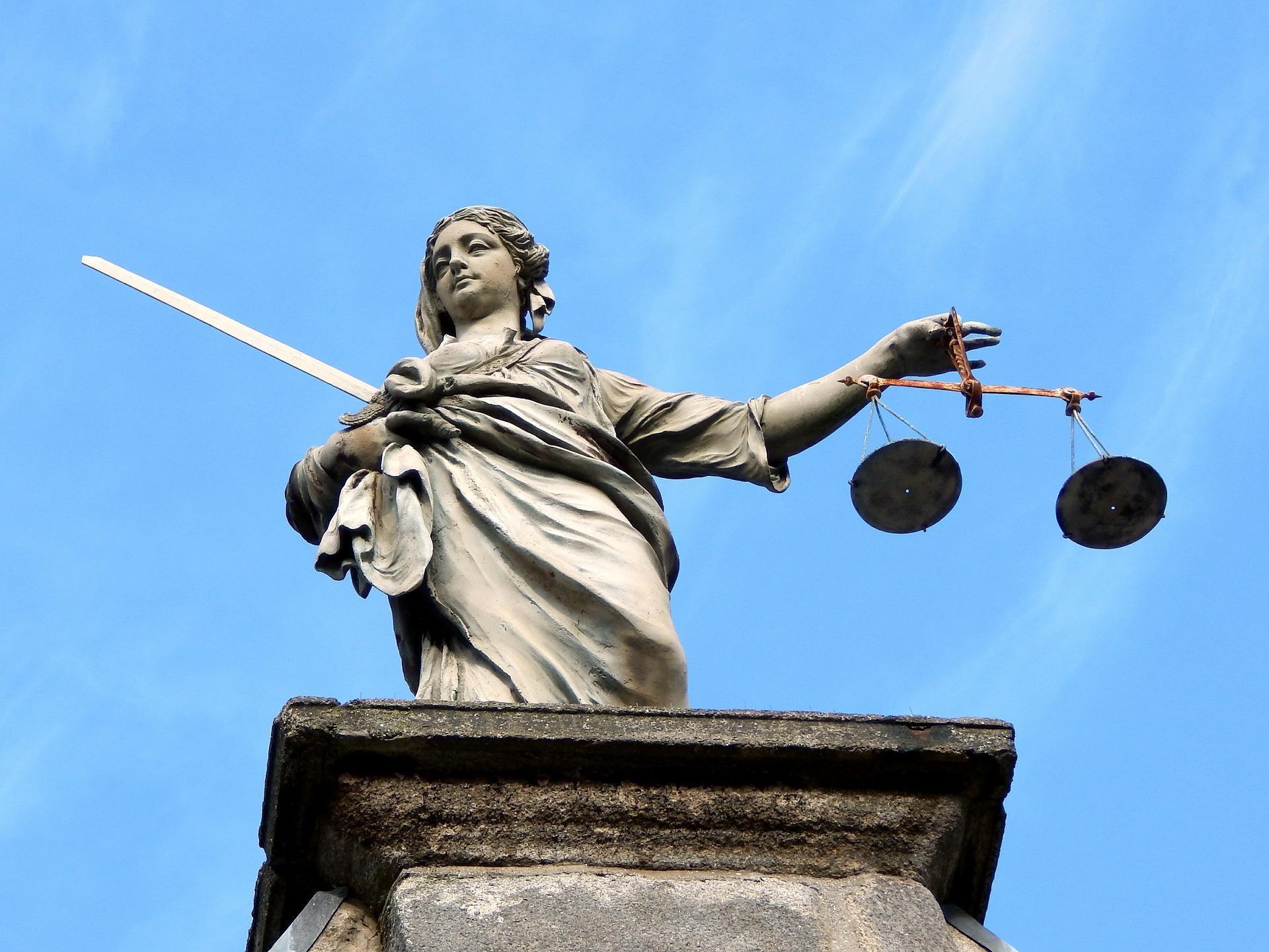 Justice Statue, Dublin Ireland