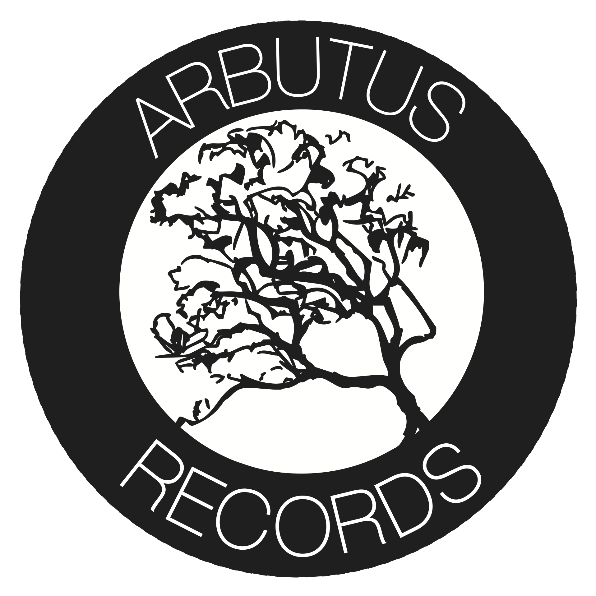 arbutus records logo