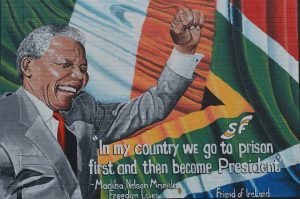 Nelson Mandela Street Art Northern Ireland