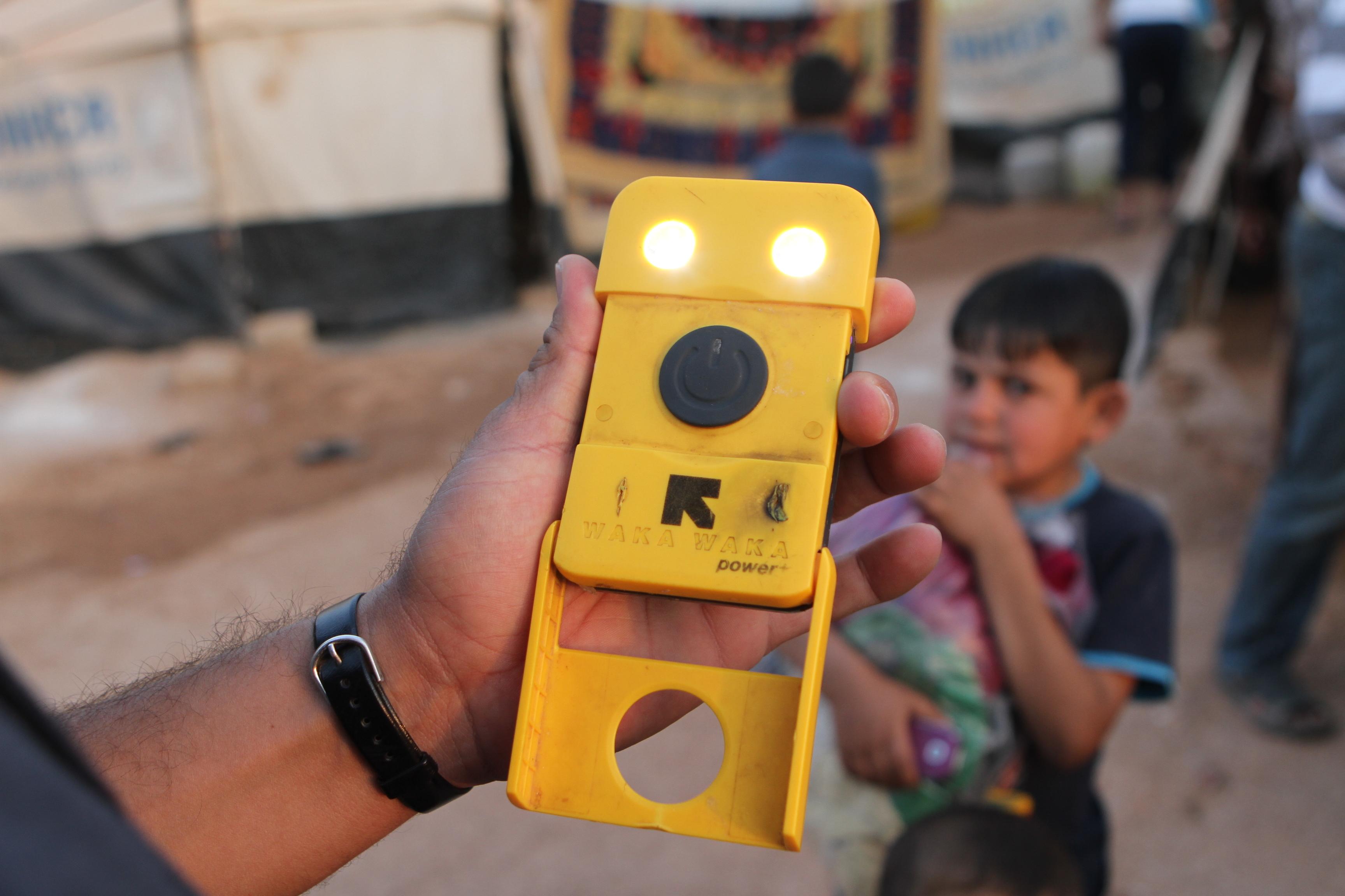 WakaWaka Power+ Syria+light-energy