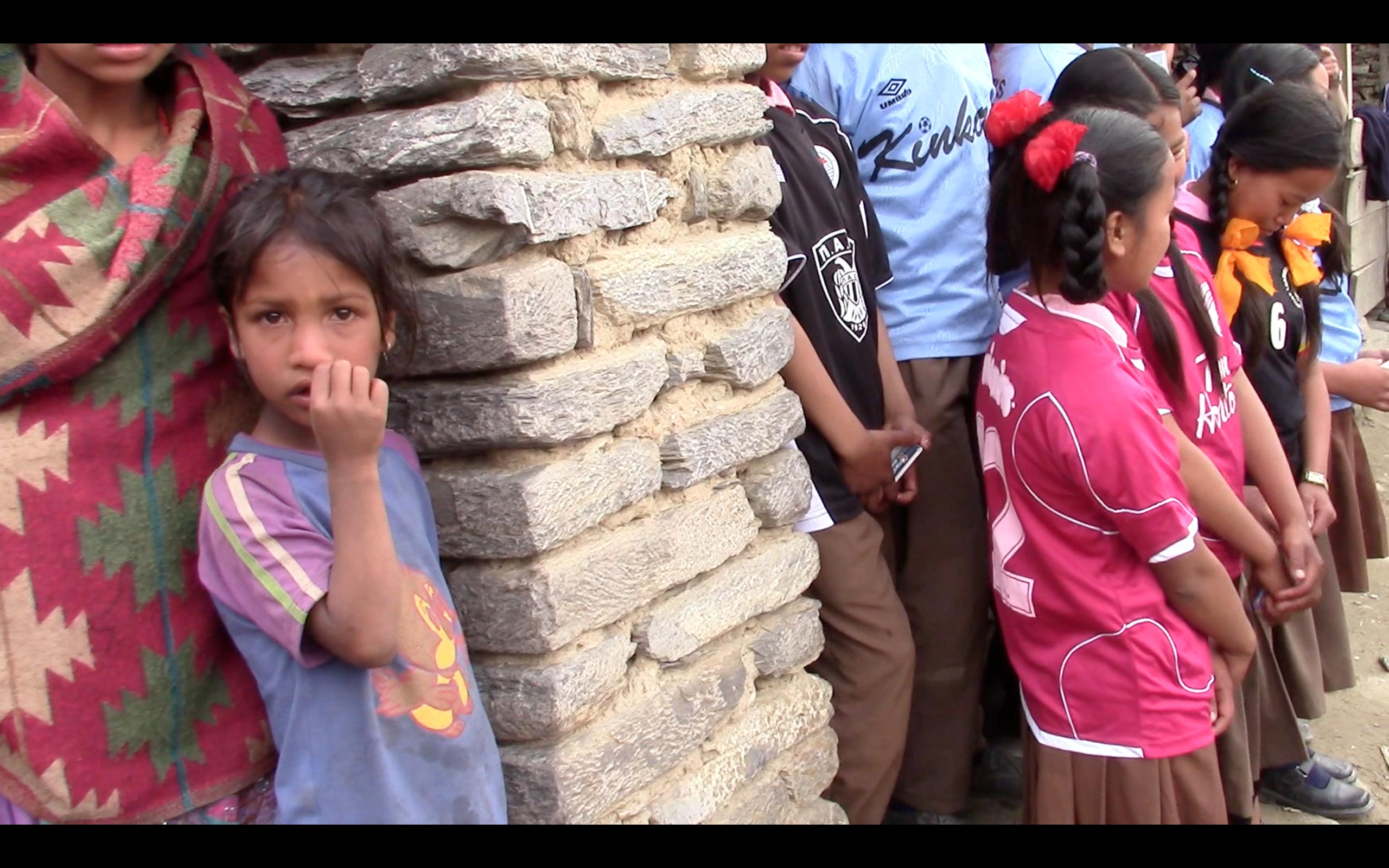 nepal school girls