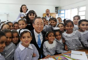 Secretary General visits Gaza