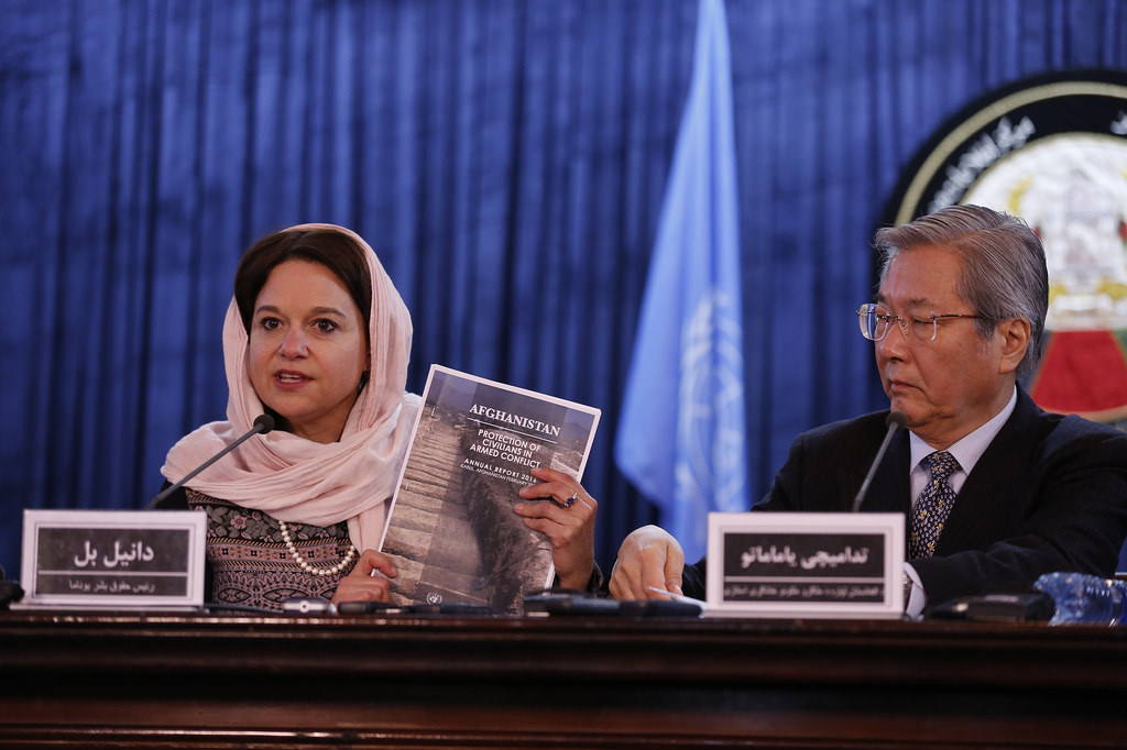 UNAMA Launches Annual Report on Protection of Civilians in Armed Conflict