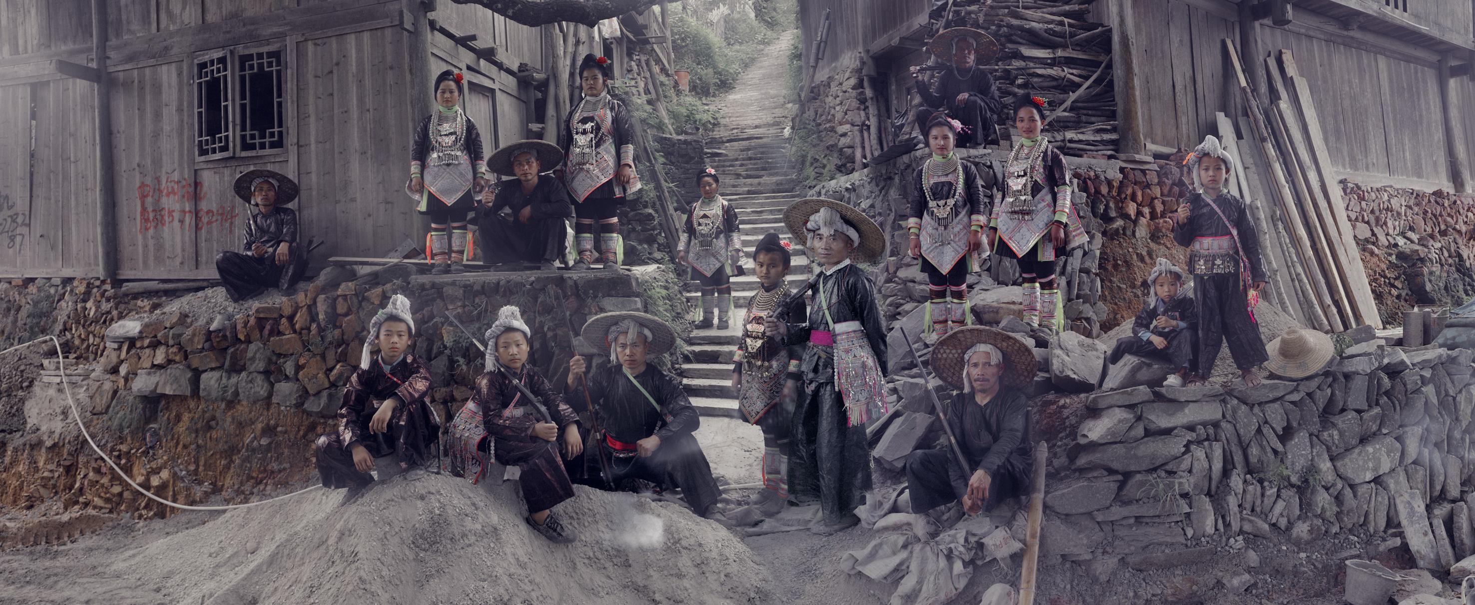 XXII 8, Basha Miao Village, Congjiang, Qiandongnan, Guizhou China, 2016
