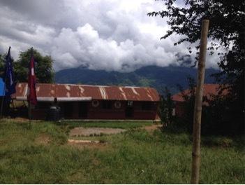 In the Photo: The Astam/Annapurna local public school. Photo Credit: Katherine Baxter