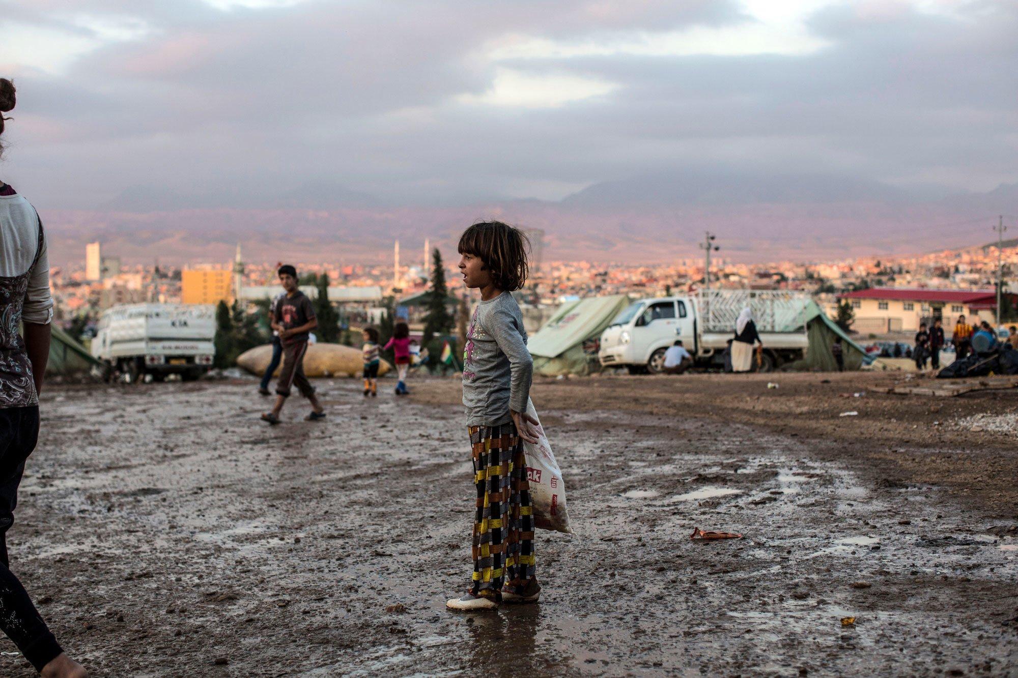 KURDISTAN-IRAQ-CHILDREN-CONFLICTS