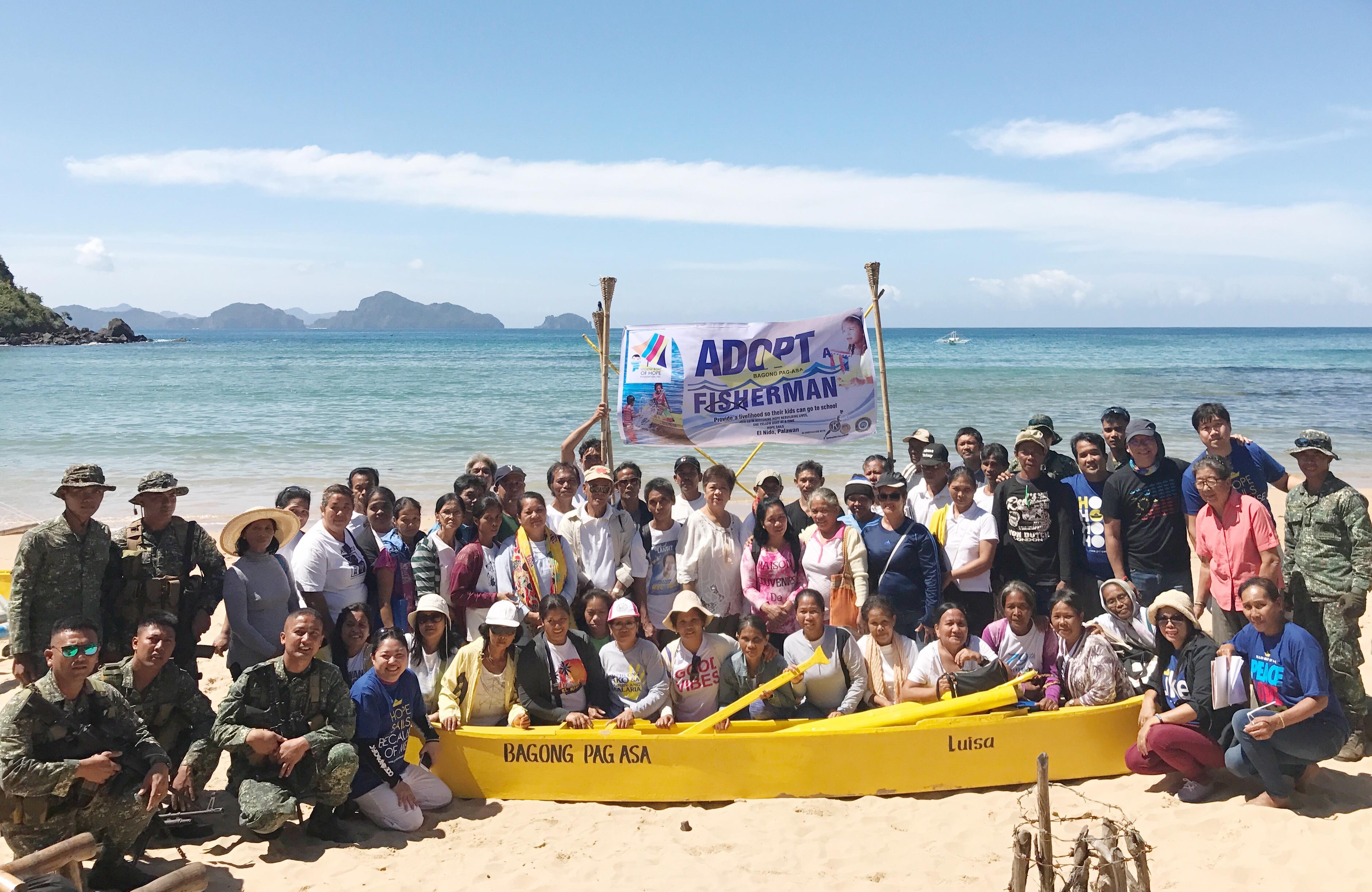 Adopt a Fisherman program, El Nido, Palawan
