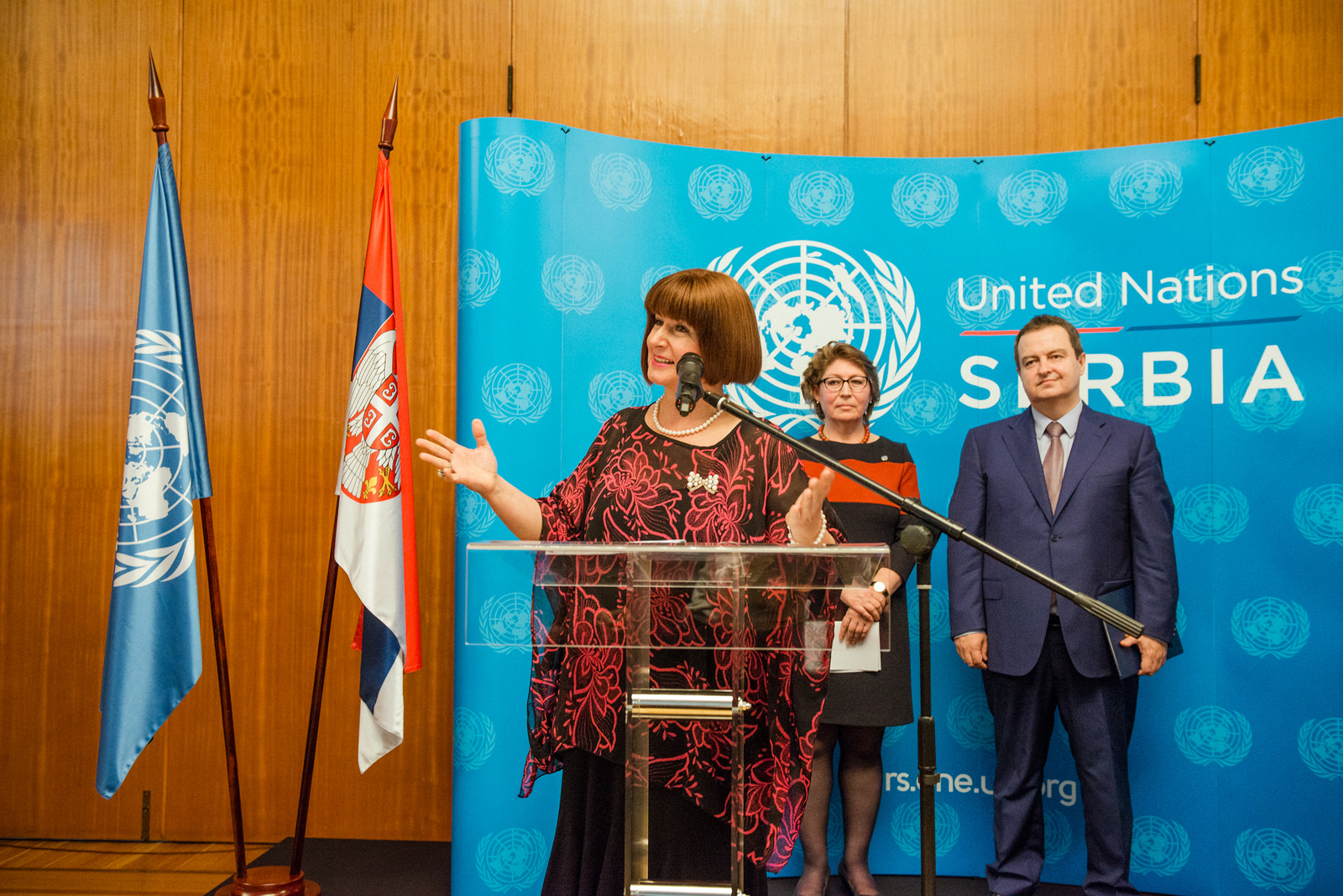 Marking of the 71st Anniversary of the UN - Serbia