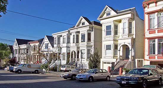 dogpatch_victorians A San Francisco neighborhood threated by gentrification