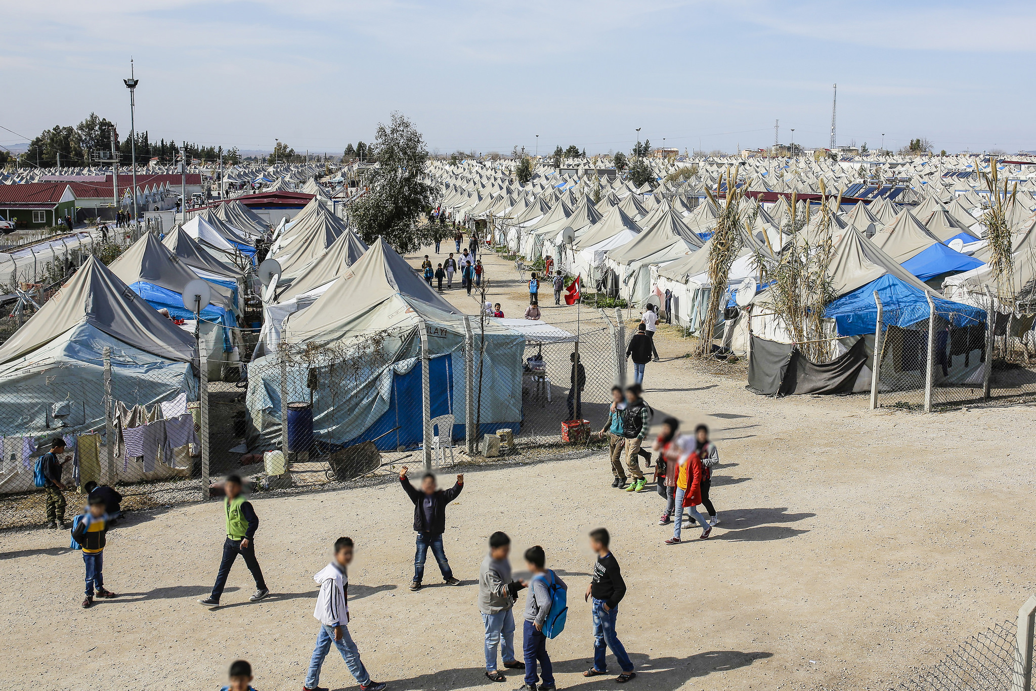 Refugees and displaced persons