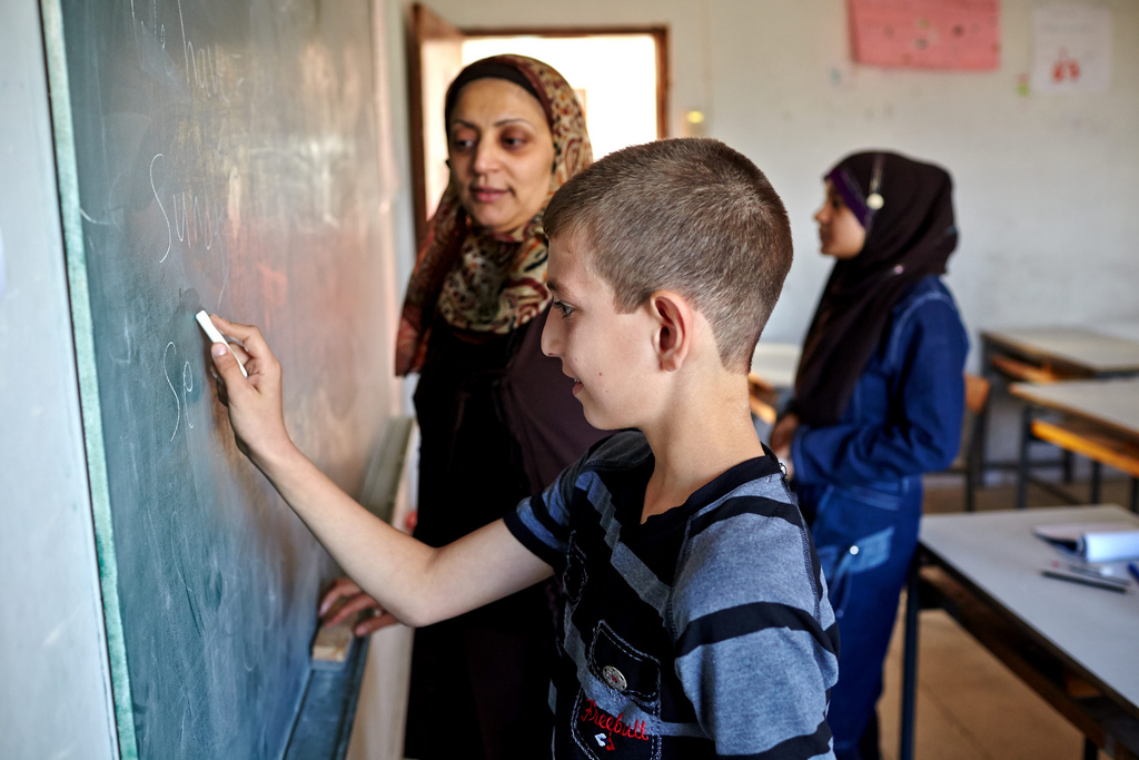 syrian refugees education