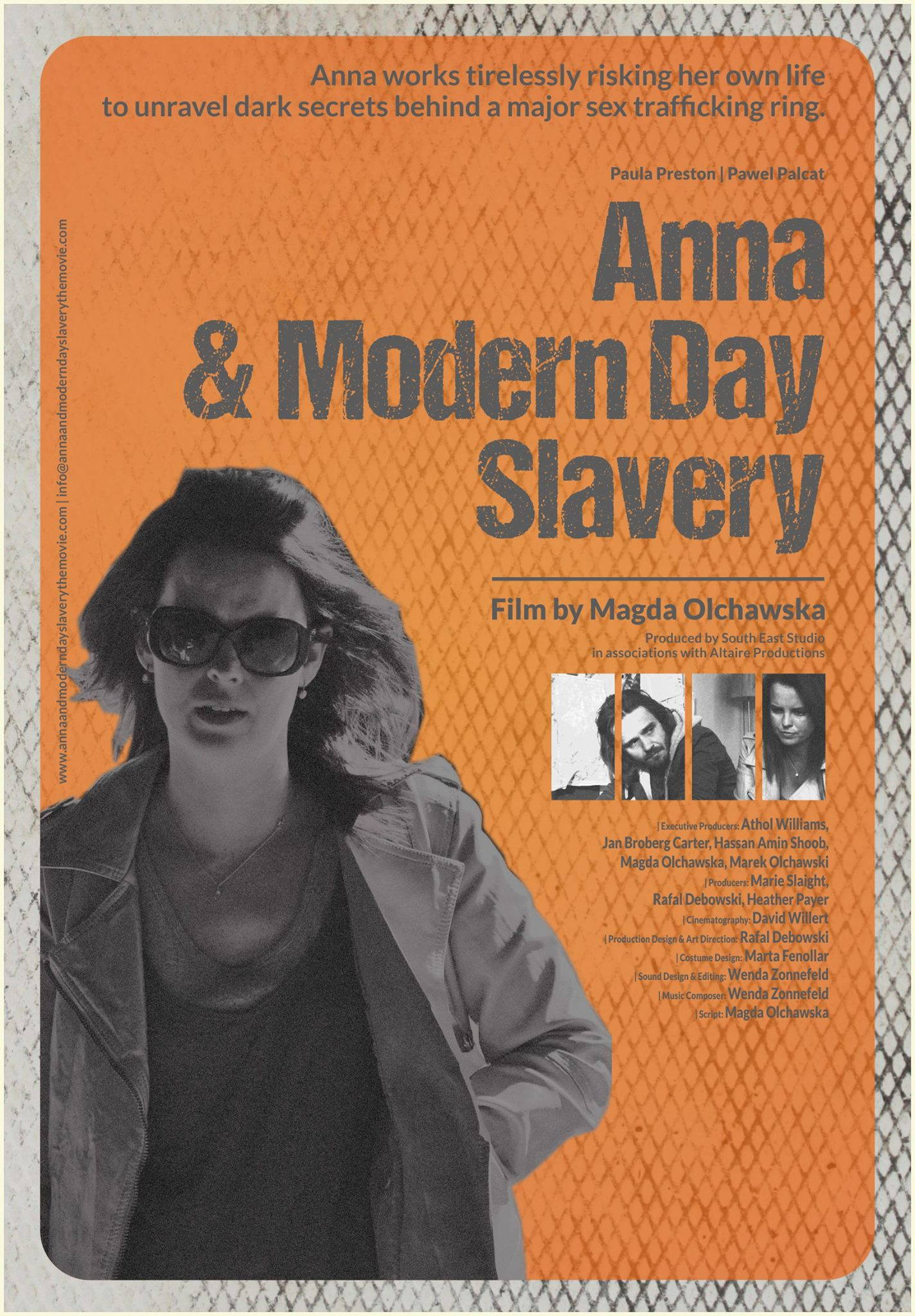 Anna & Modern Day Slavery official poster