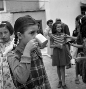 Food aid in Greece 1948 (joint mission FAO-Unicef
