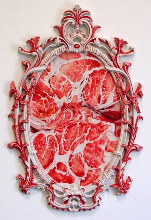 """Victoria Reynolds - """"Meat Painting"""""""