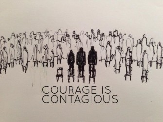 """Be courageous because courage is contagious"" – Interview with Davide Dormino"