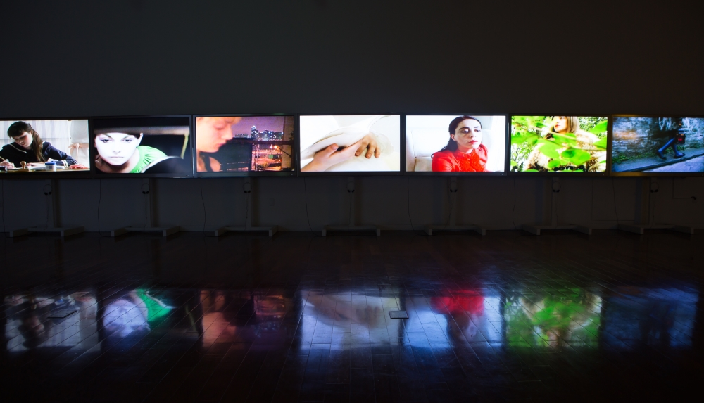 Valerio Rocco Orlando, The Sentimental Glance, 2002-2007. Installation view, Korea Foundation, Seoul. Ph. Soohoon Kang