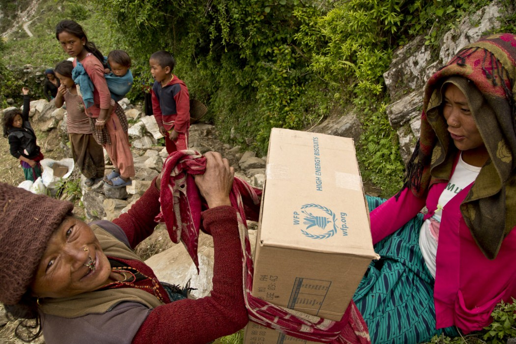 Nepal Earthquake Leaves Behind Devastation Nepal Ertharin Cousin, WFP