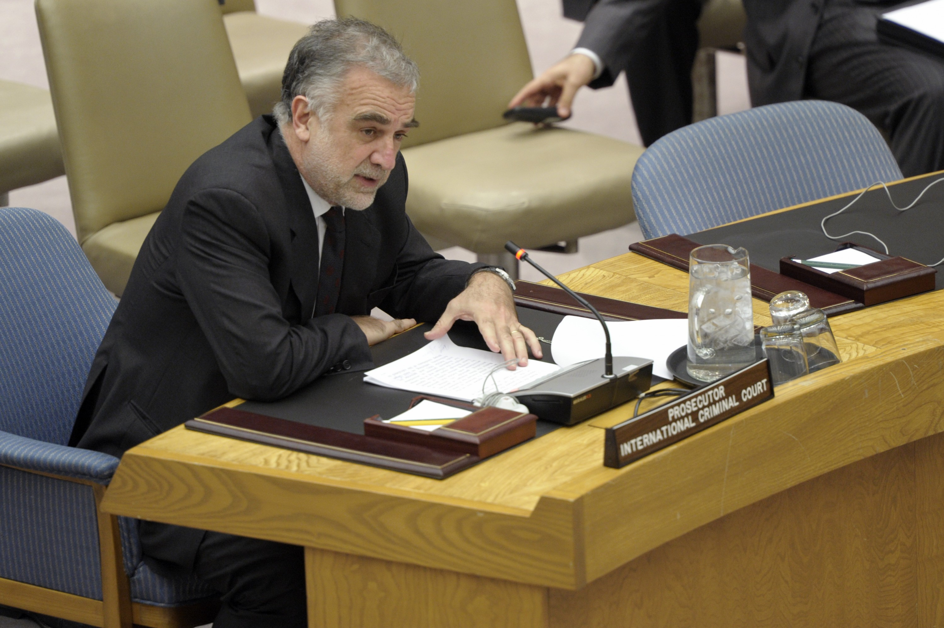 Security Council Meeting: Report of the Secretary-General on the Sudan.