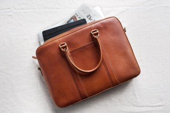 The Warby Parker for Luxury Leather Bags – Linjer founders revealed