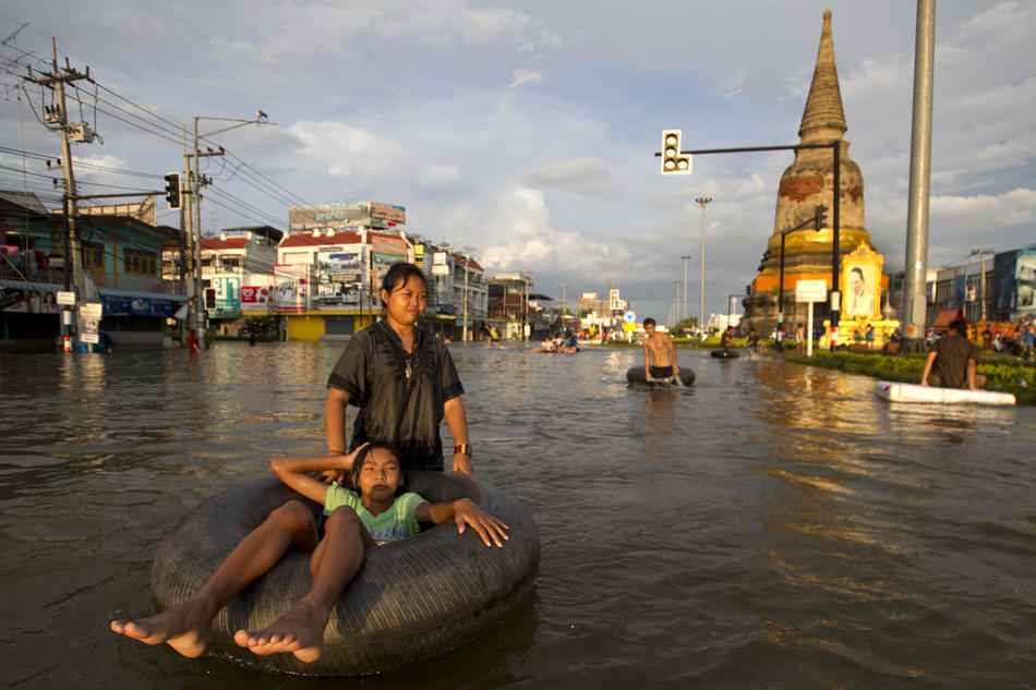 Floods Continue To Ravage Parts Of Thailand
