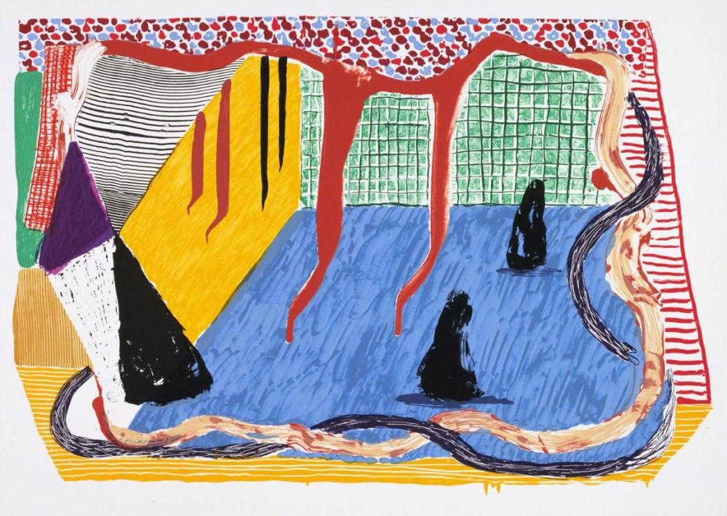 David Hockney Ink in the Room