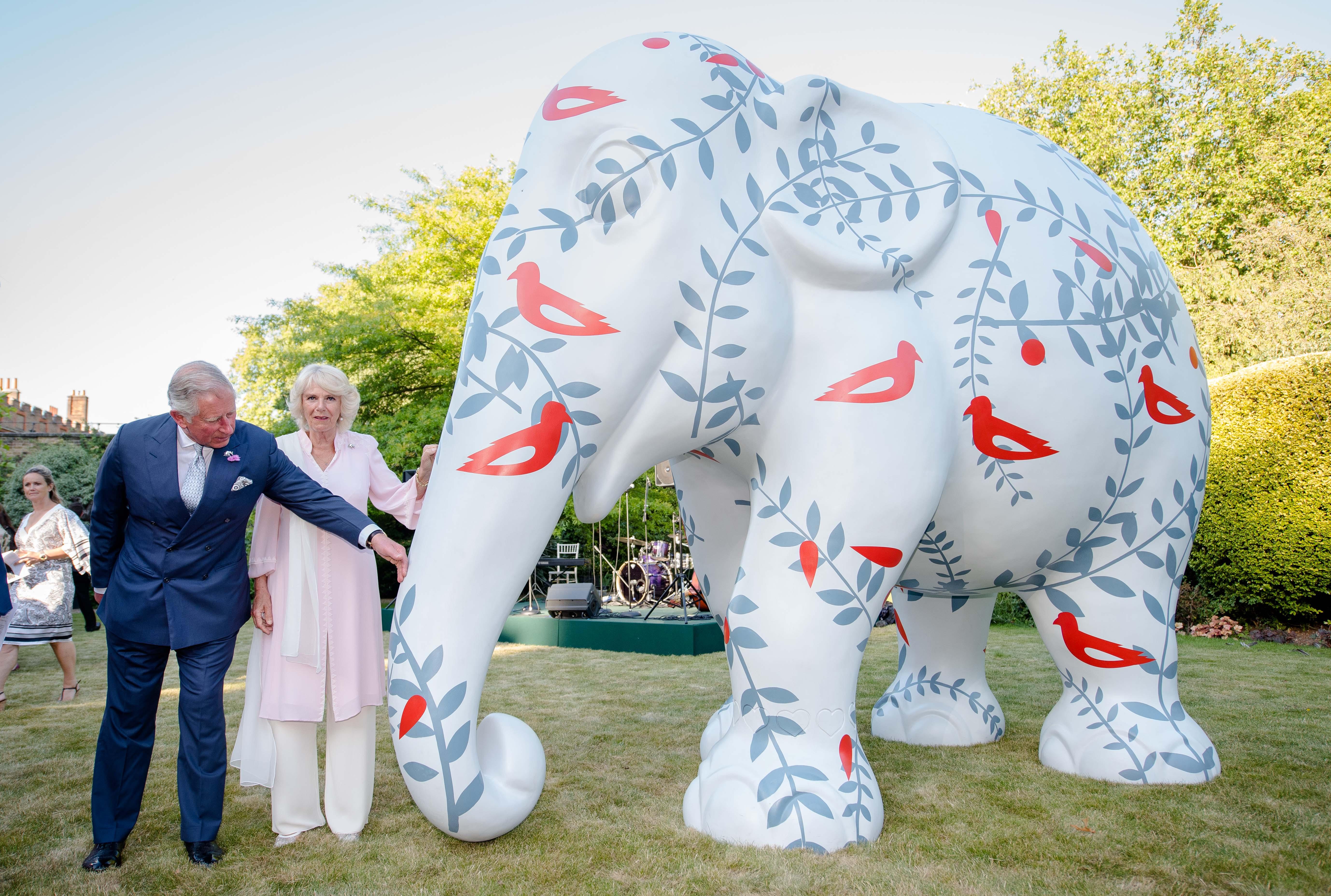 Travels To My Elephant auction, Lancaster House, London, Britain - 30 Jun 2015