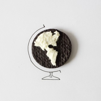 Javier Pérez: Creation of Minimalism Drawing with Real-Life Objects