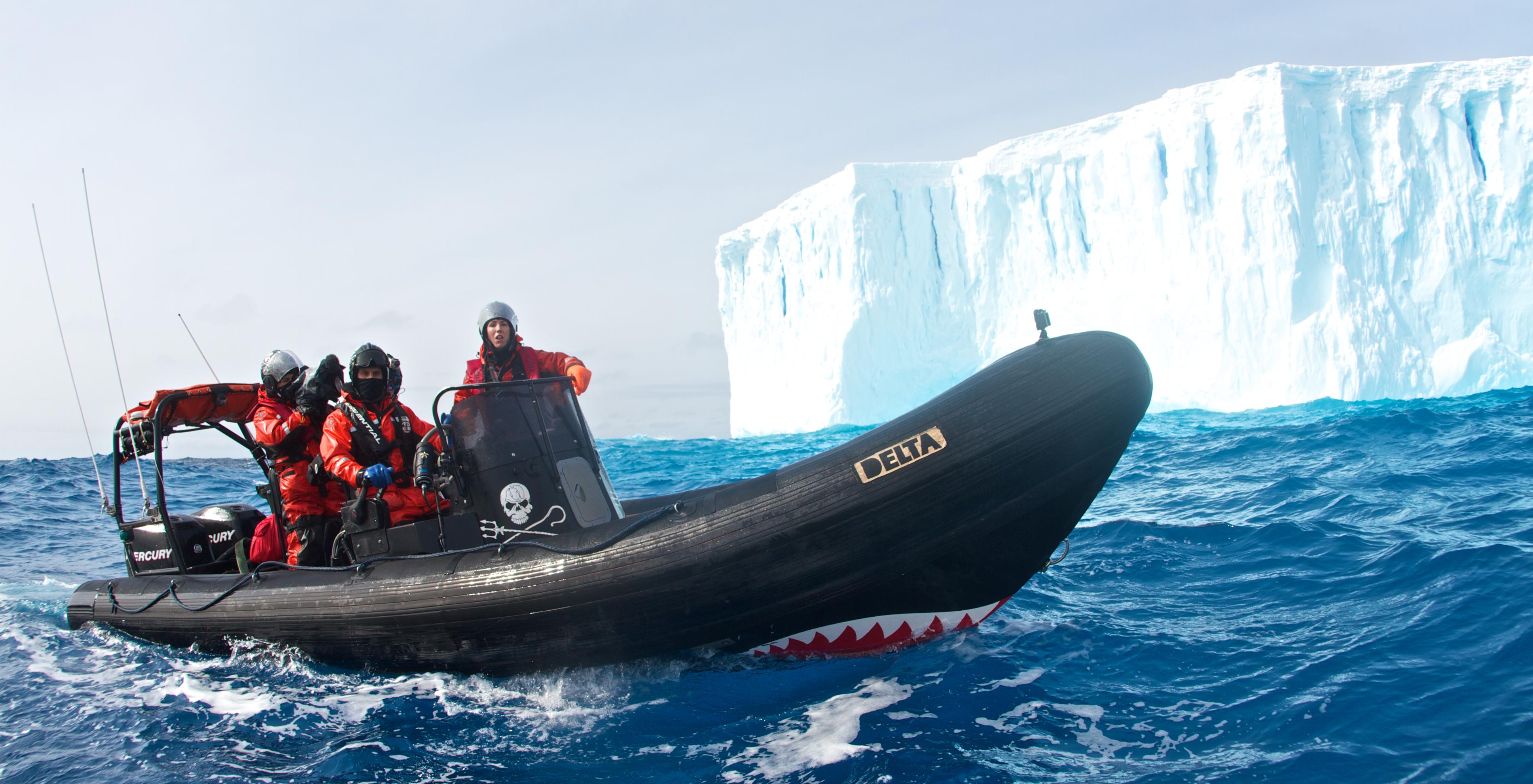 Delta by an iceberg, waiting for the Yushin Maru #3