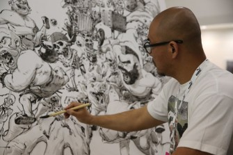 Drawing Freestyle with Kim Jung Gi