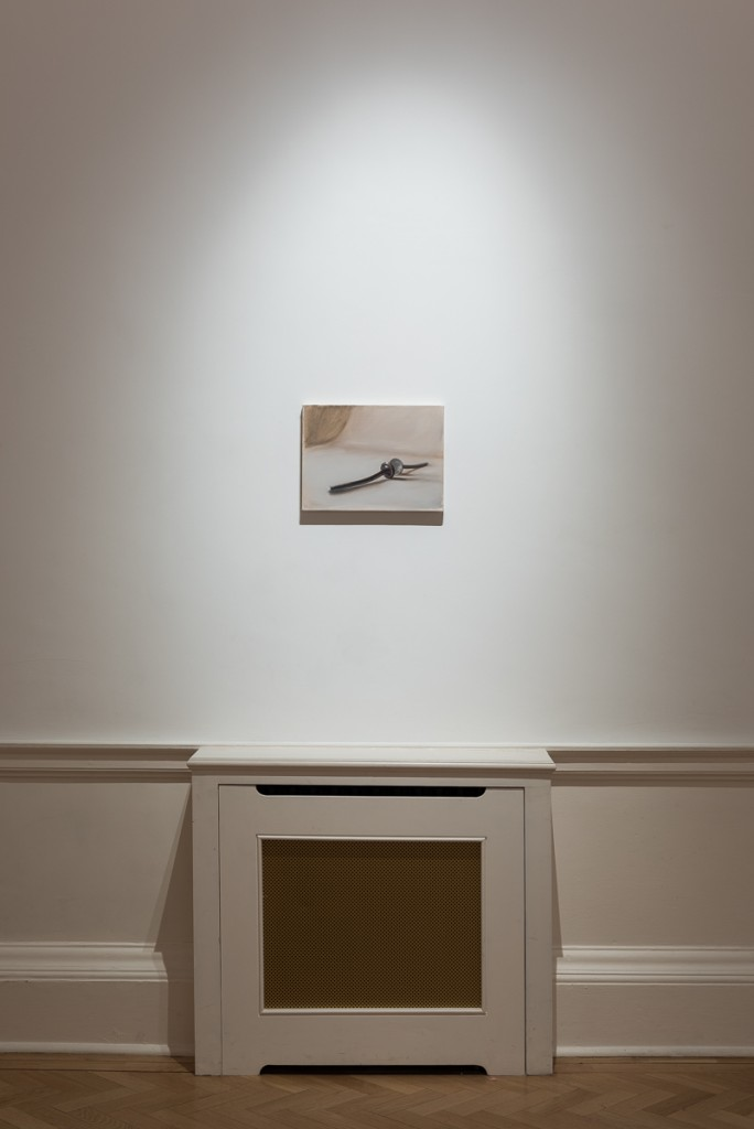Manuele Cerutti's first show, Proprioception in the UK
