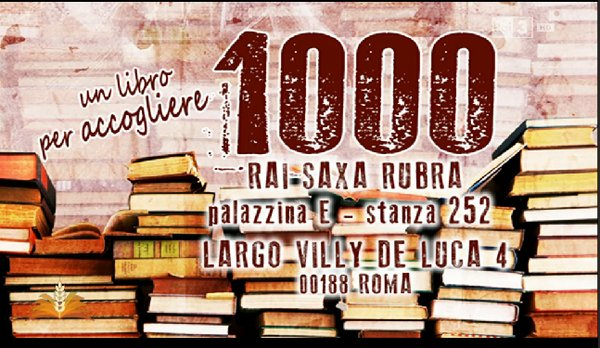Un libro per accogliere a book to welcome