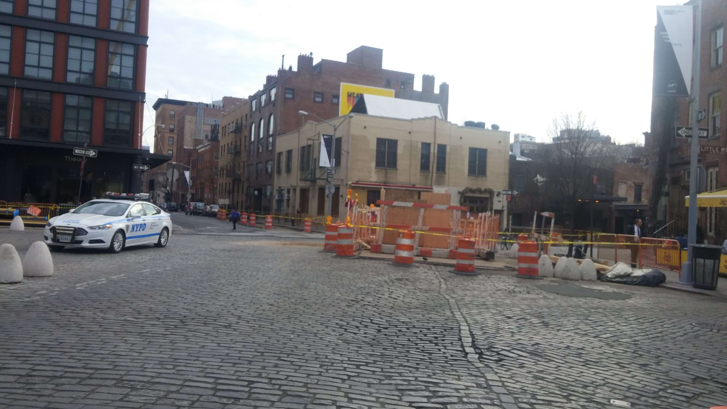 Construction in Meatpacking