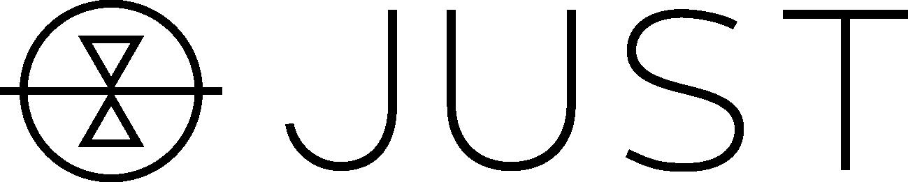 JUST Full Logo, Transparent