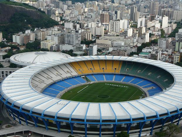 Maracana Stadium will host the football competition for the 2016 games in Rio de Janeiro. Photo courtesy of Around the Rings via Flickr.