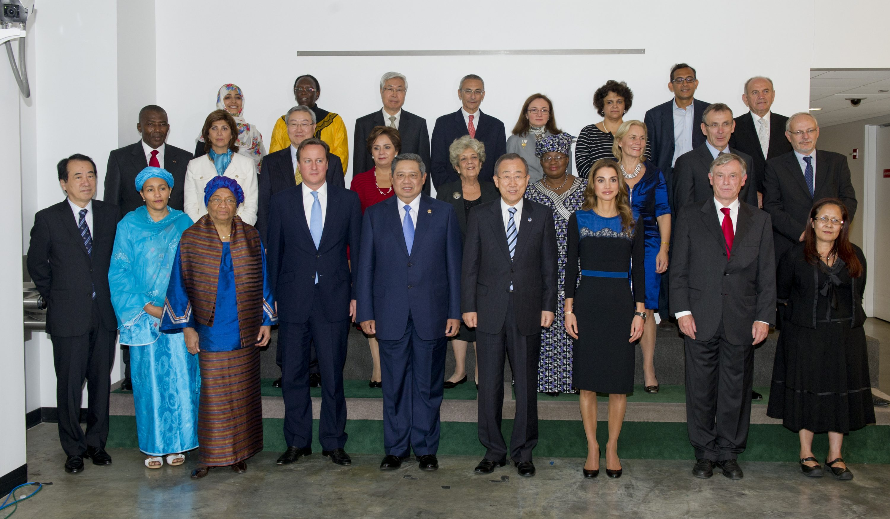 SG meeting of Eminent persons meeting on post 2015 MDG