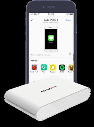 screen box, get screen parent app