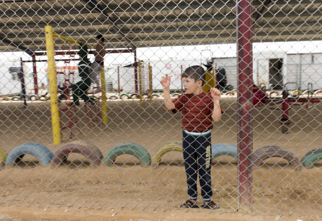 Zaatari Refugee Camp Impakter Borders