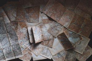 Maps, Old, Interpol, Impakter