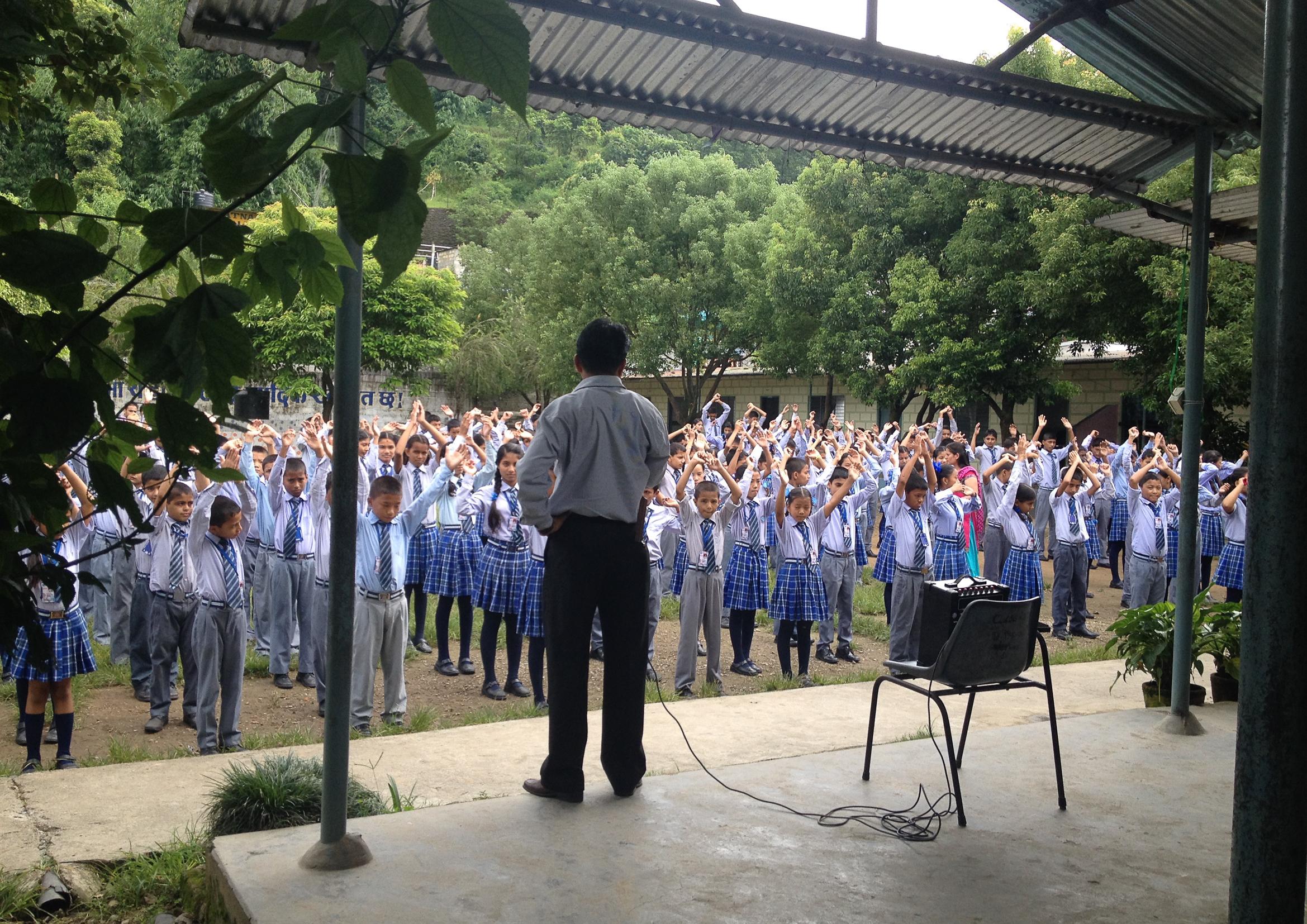 nepal school education teacher students